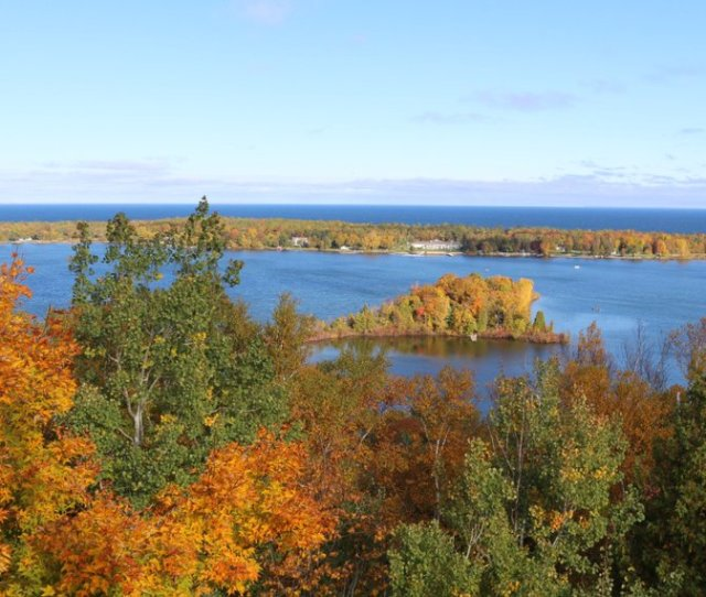 View From The Firewatchtower In Potawatomi State Park Photo By Jeff Stephenson