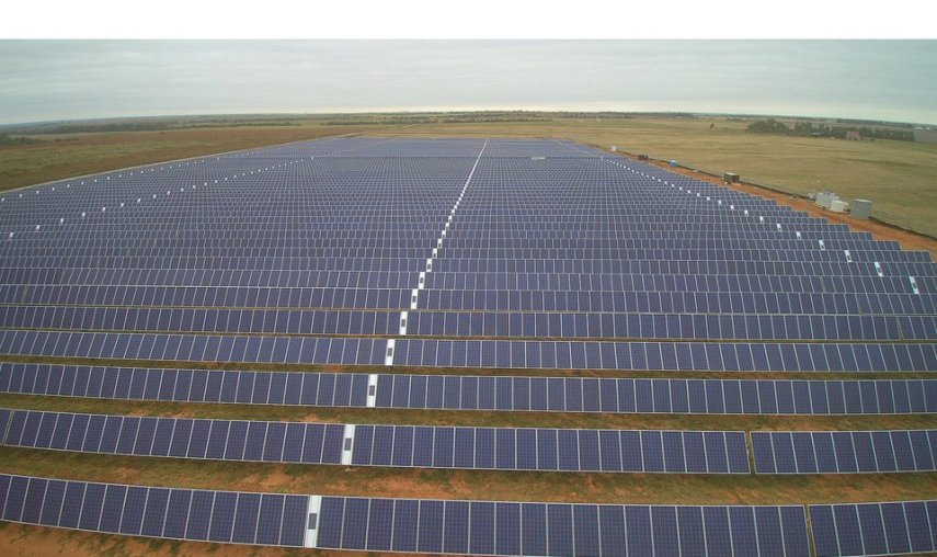 Oklahoma electric cooperative is a solar power generation leader The 3 megawatt Western Farmers owned Pine Ridge solar generation facility   near Apache