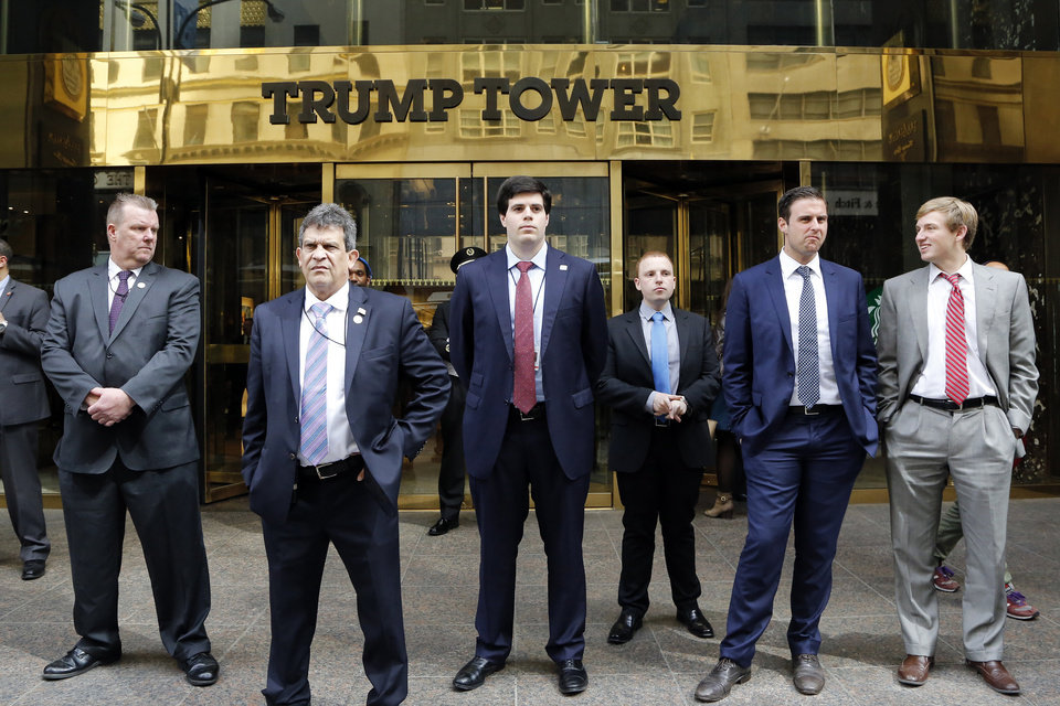 Image result for Protest against Trump at Trump Towers