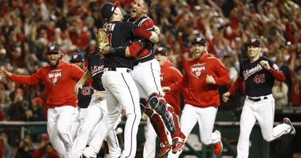 MLB NOTEBOOK: Nationals sweep St. Louis to win NL pennant