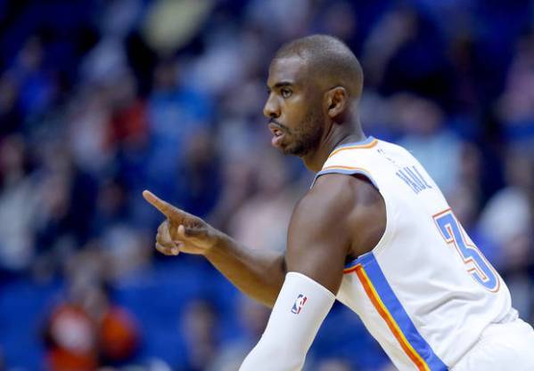Thunder journal: Thunder adjusts to Chris Paul resting in preseason finale