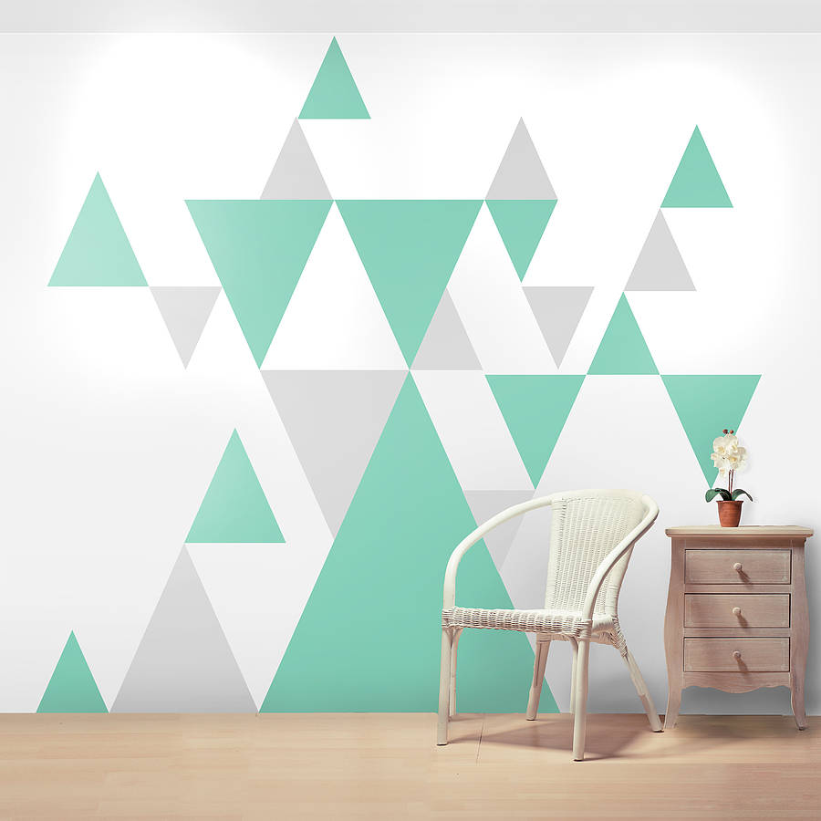 Geometric wallsticker
