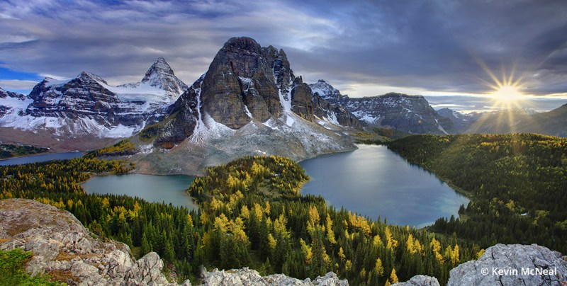 Fall photography at Mount Assiniboine