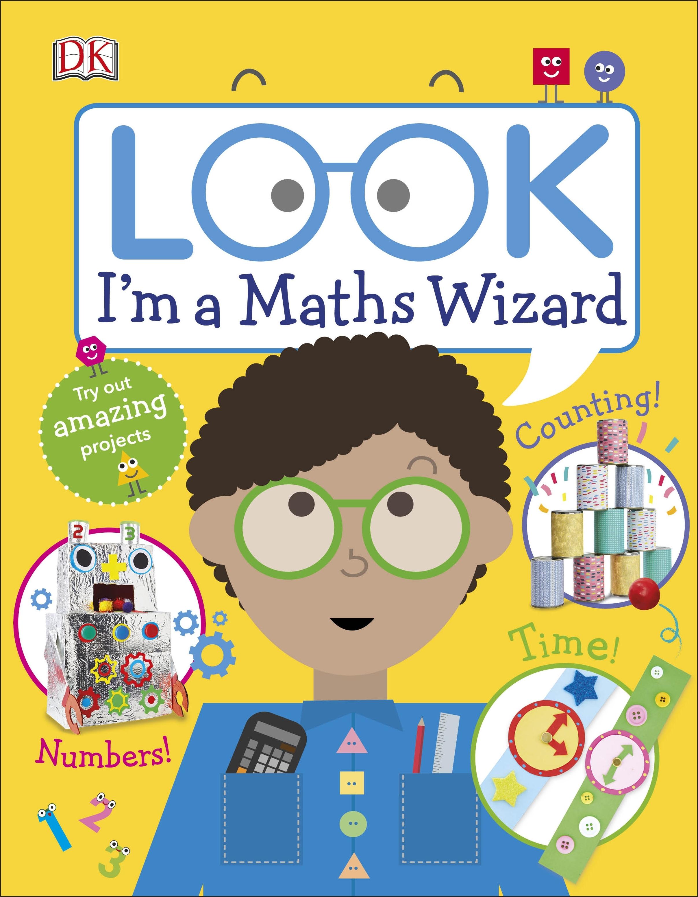 Look I M A Maths Wizard By Dk