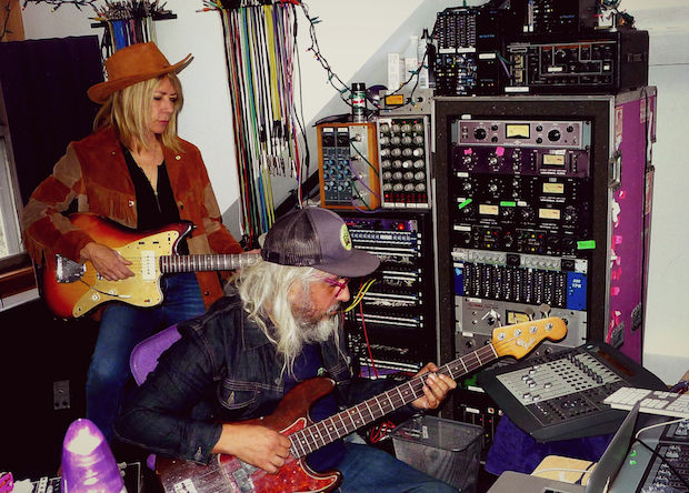 Kim Gordon and J Mascis Team Up on