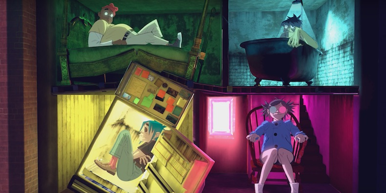 Image result for saturnz barz, gorillaz