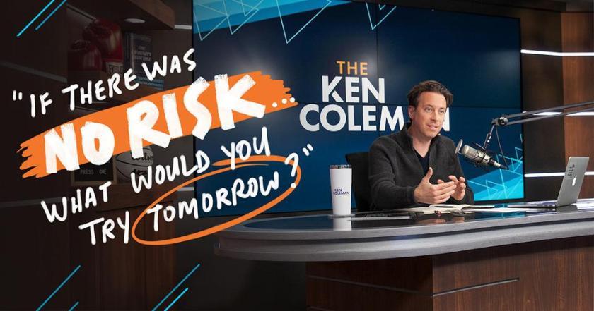 Talk Radio host and career expert Ken Coleman asks a caller,