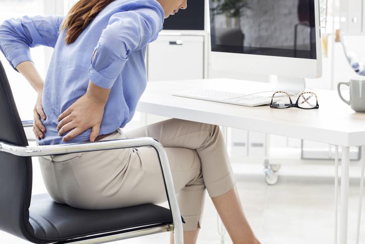 reducir pancita mientras estás sentado