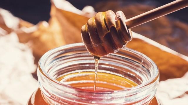 Mascarilla de harina de almendras y miel