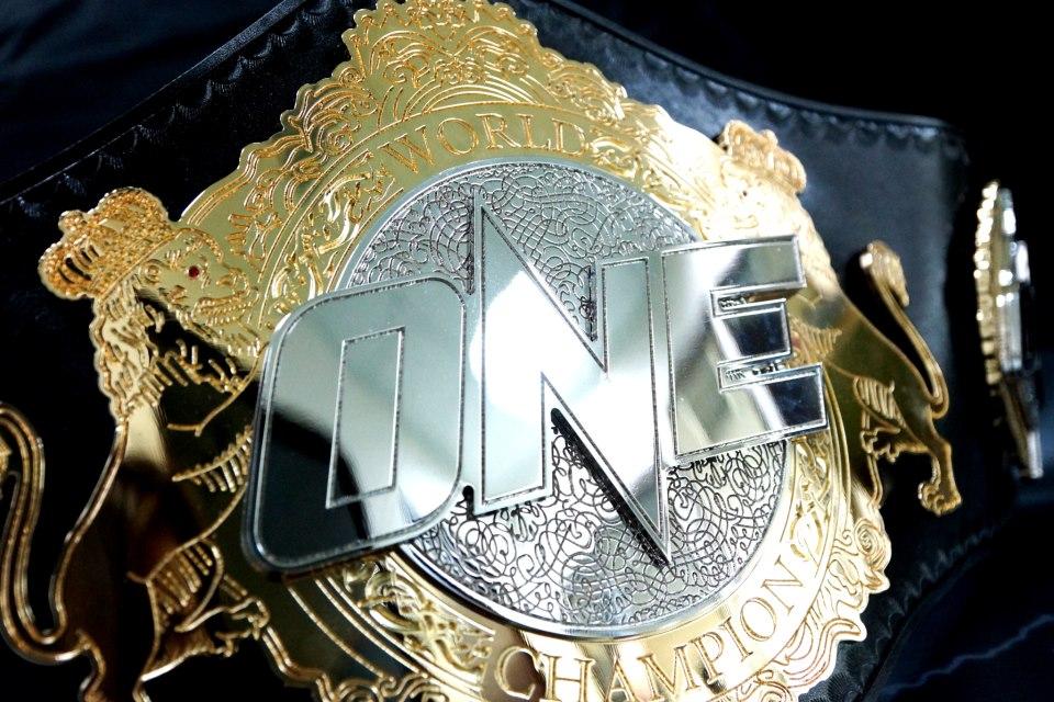 Image result for one championship belt