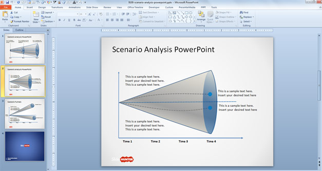 Free Scenario Analysis PowerPoint Template Free PowerPoint Templates