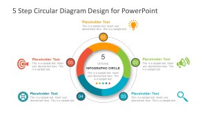 5 Step Circular Diagram Design for PowerPoint  SlideModel