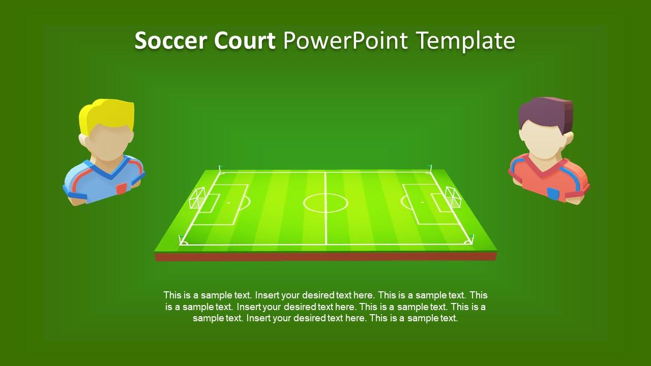 Football Game Animated Template Slidemodel