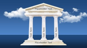 Animated 3D Pillars Diagram for PowerPoint  SlideModel