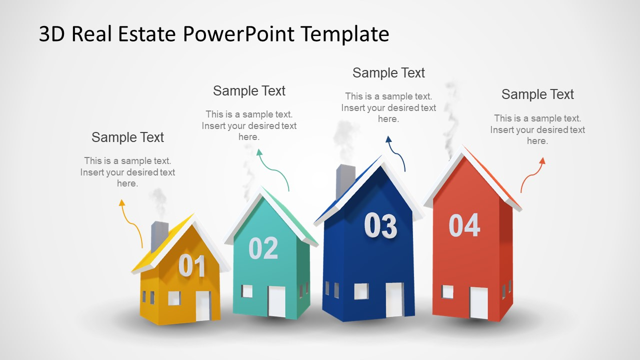 Animated 3d Real Estate Powerpoint Template
