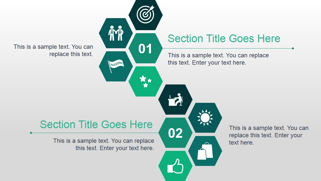 Green Animated Business PowerPoint Template