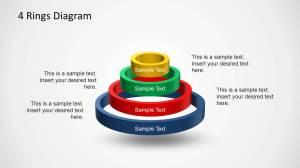 4 Rings Diagram Template for PowerPoint  SlideModel