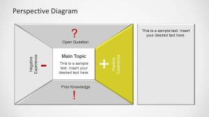 Perspective Diagram PowerPoint Teamplate  SlideModel