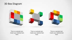 Creative 3D Box Diagram Template for PowerPoint  SlideModel
