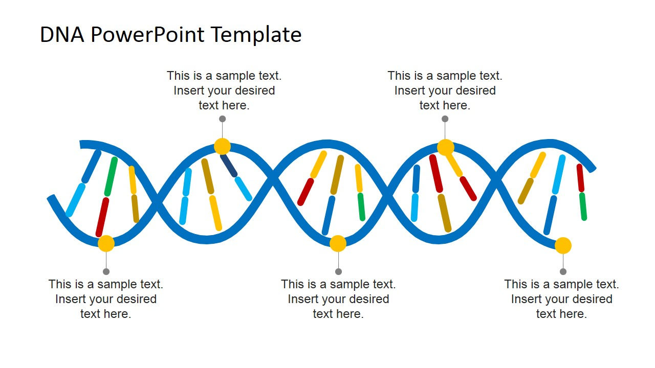 Dna Template Dna Template Dna Powerpoint Template Mrna And