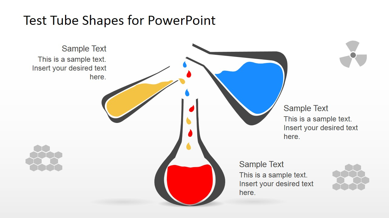 Test Tube Shapes For PowerPoint SlideModel