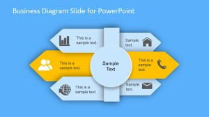 Business Diagram Arrows Slides for PowerPoint  SlideModel