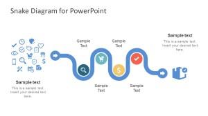 Creative Snake Diagram PowerPoint Template  SlideModel