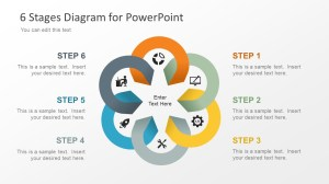 6 Stage Diagram for PowerPoint  SlideModel
