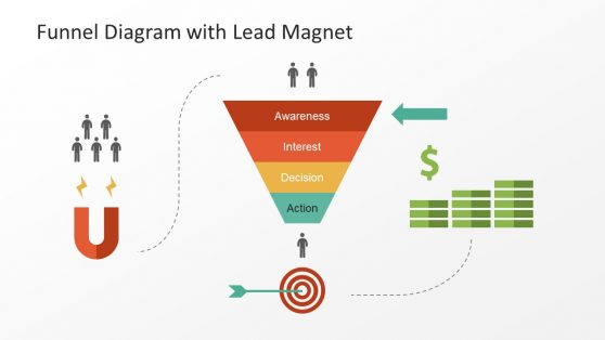 Marketing Funnel Diagram Templates For Powerpoint
