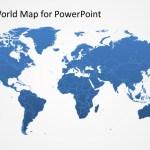 Editable Worldmap For Powerpoint Slidemodel