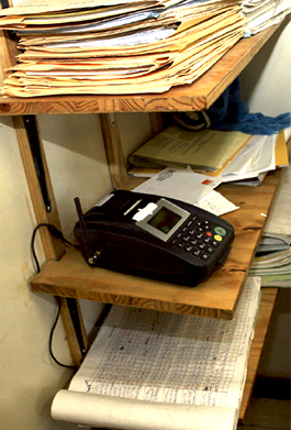 SMS printer in Botswana antenatal clinic