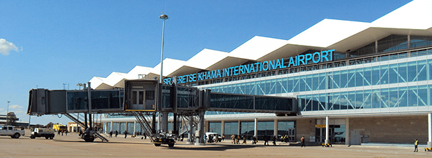 Sir Seretse Khama Airport, photo by Shosholoza