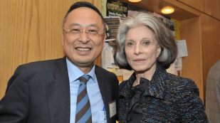 Gerald Chan and honoree Deeda Blair
