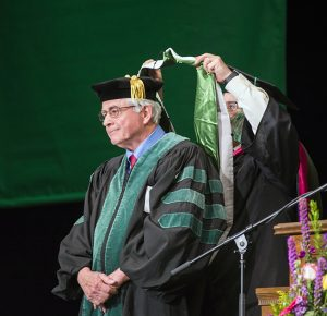 Essex receives an honorary Doctorate of Science.