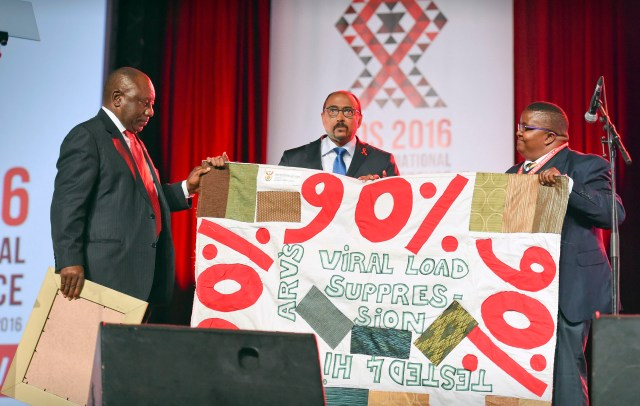 AIDS 2016 Durban, opening session