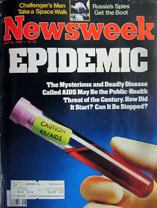 April 1983 issue of Newsweek