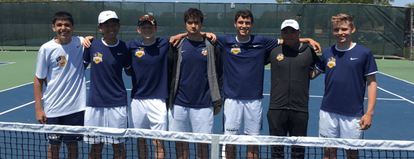 All 7 Tennis Cats Clinch Berth In Districts Play University