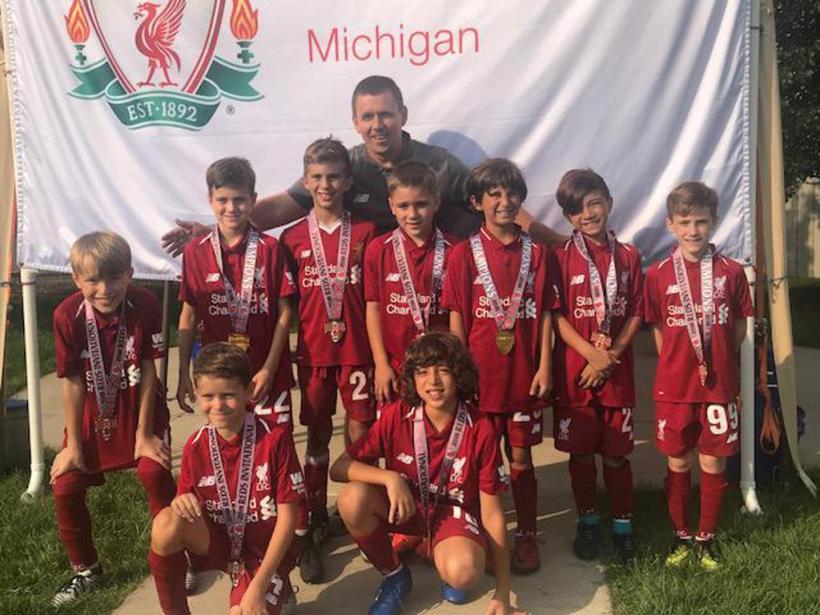 2018 Reds Invitational U10 Boys Champions