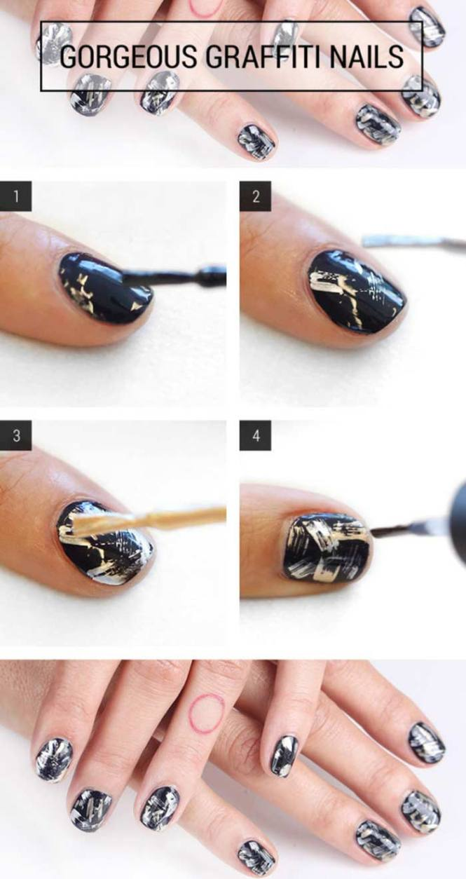 Perfect Nail Art Designs For Short Nails Images Inside Design