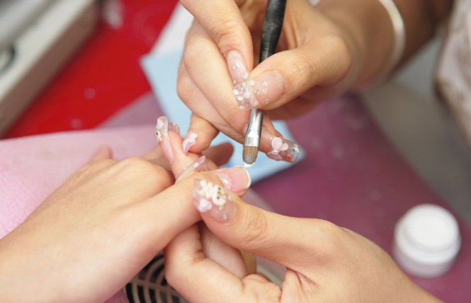 Image Led Do Acrylic Nails Step 8bullet2