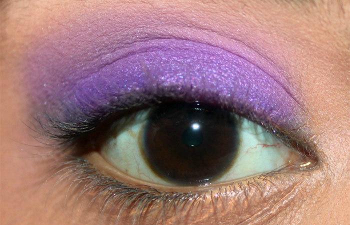 Eye Makeup Purple Eyeshadow Makeupview