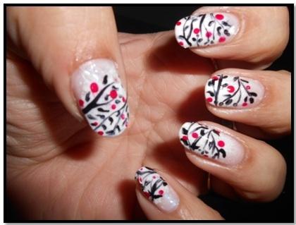 Inspiration 6 Freehand Nail Art