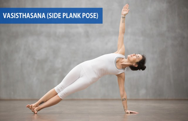 4. Vasisthasana (Side Plank Pose)