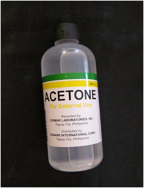 acetone for acrylic nail remover