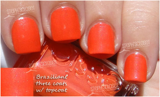 Orange Coffin Nails Rusty