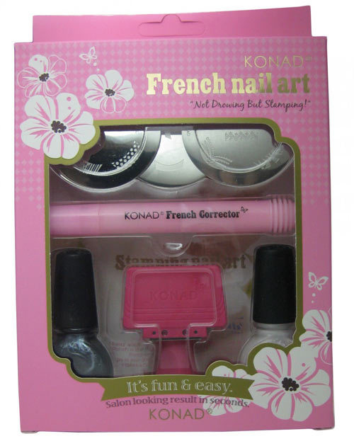 Kits Available In India 1 Konad Nail Art How To Do The French Manicure At Home