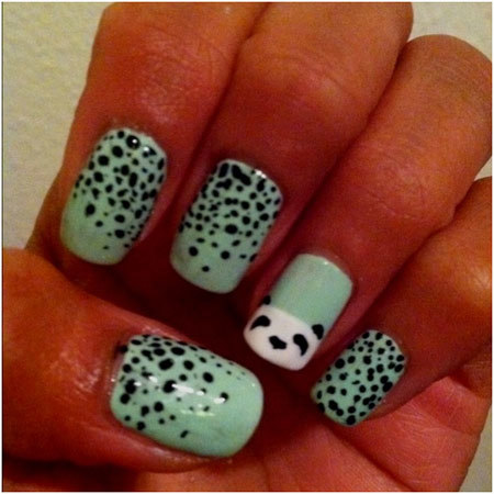 Easy And Simple Zoo Animals Nail Art Designs All For Fashion Design