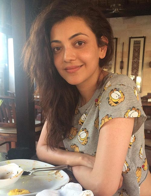 Kajal Agarwal Without Makeup - Top 15 Latest Real Life Pictures