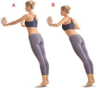 Image result for Wall Push Ups