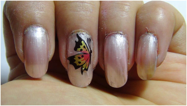 Erfly Nail Sticker